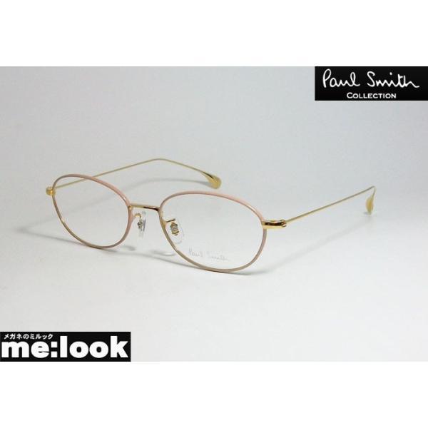 PAUL SMITH ポールスミス クラシック 眼鏡 メガネ フレーム PSE1009-GPP-50 度付可 ゴールド ピンク