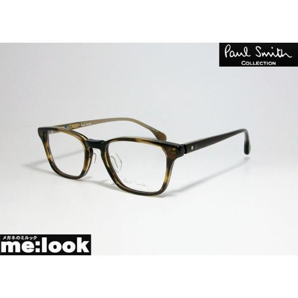 PAUL SMITH ポールスミス スクエア クラシック 眼鏡 メガネ フレーム PSE4001-GBRB-52 度付可 ブラウン