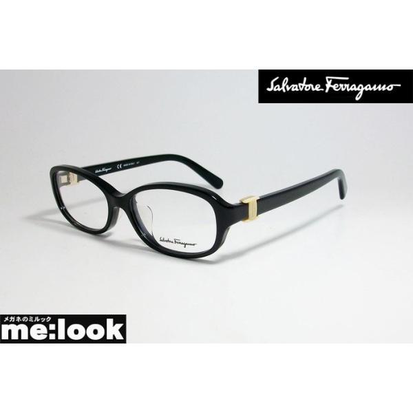 FERRAGAMO フェラガモ レディース 眼鏡 メガネ フレーム SF2769A-001-52 度付可 ブラック