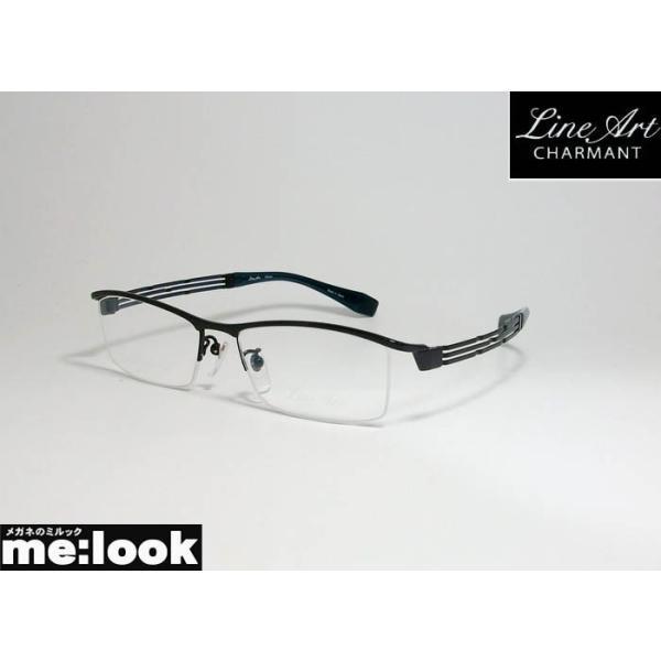 Line Art ラインアート 眼鏡 メガネ フレーム メンズ 最高のかけ心地 形状記憶 XL1028-BK-54 度付可 ブラック
