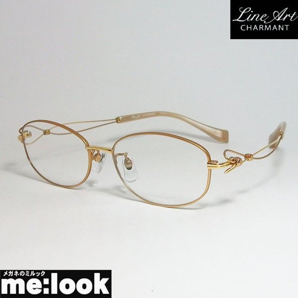 Line Art ラインアート 眼鏡 メガネ フレーム レディース 最高のかけ心地 形状記憶 XL1658-RG-52 度付可 ローズゴールド