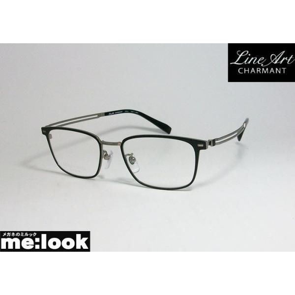 Line Art ラインアート 眼鏡 メガネ フレーム メンズ 最高のかけ心地 形状記憶 XL1807-BK-51 度付可 ブラック