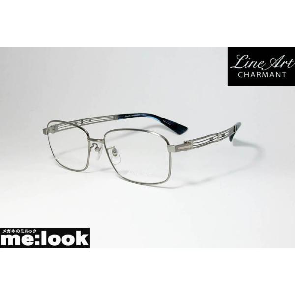 Line Art ラインアート 眼鏡 メガネ フレーム メンズ 最高のかけ心地 形状記憶 XL1812-LG-54 度付可 ライトグレイ