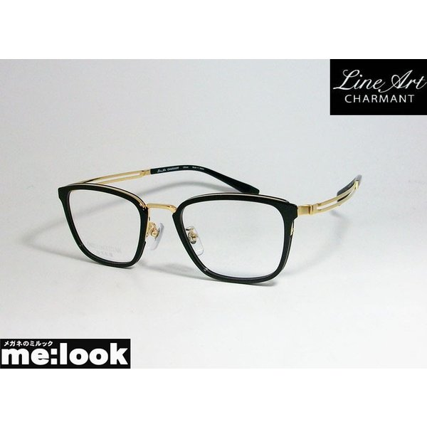 Line Art ラインアート 眼鏡 メガネ フレーム メンズ 最高のかけ心地 形状記憶 XL1820-BK-50 度付可 ブラック
