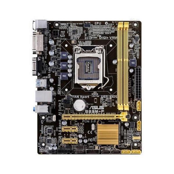 新品 Asus B85M-F Intel B85 マザーボードLGA 1150コンピュータ パーツ2×DDR3 PCパーツMicro ATX動作確認済|melville