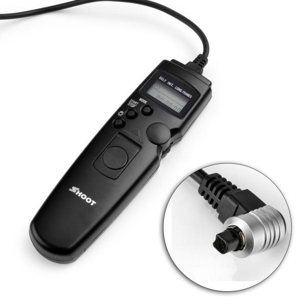 Shoot タイマーリモートコントローラー Canon TC-80N3 互換品 タイマー機能付 EOS 6D 7D 60Da 5D Mark III 等対応 melville 02