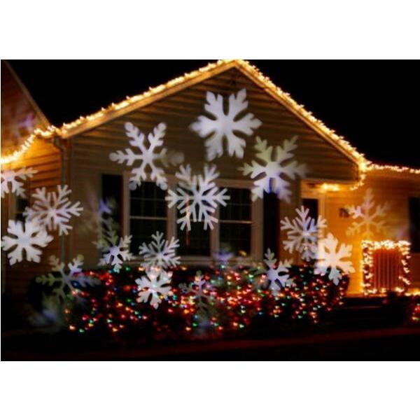 レーザーランプ クリスマス ハロウィン イルミネーション 芝生室外投影ライト 雪の花LEDランプ ステージランプ 照明 ロマンチック雰囲気 防水投影ランプ 2種類|melville|03