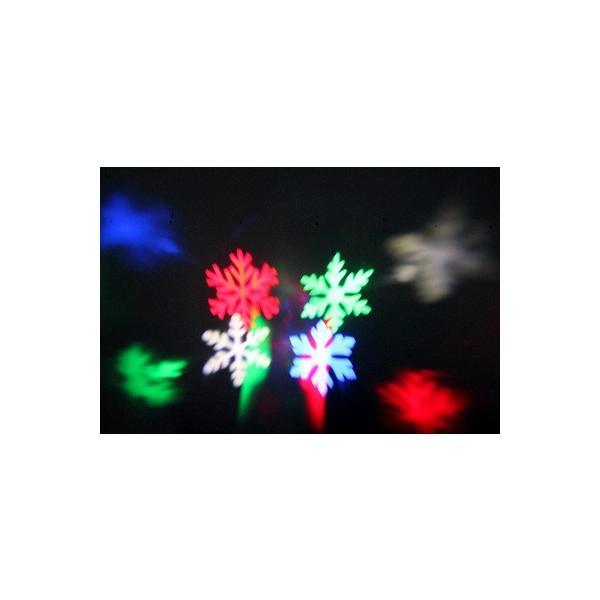 レーザーランプ クリスマス ハロウィン イルミネーション 芝生室外投影ライト 雪の花LEDランプ ステージランプ 照明 ロマンチック雰囲気 防水投影ランプ 2種類|melville|05