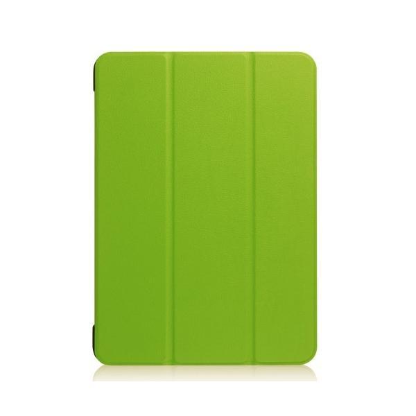 iPad 2017 レザーケース グリーン 液晶保護フィルム付き アイパッド2017 カバー 手帳型スタンド機能|memon-leather|02