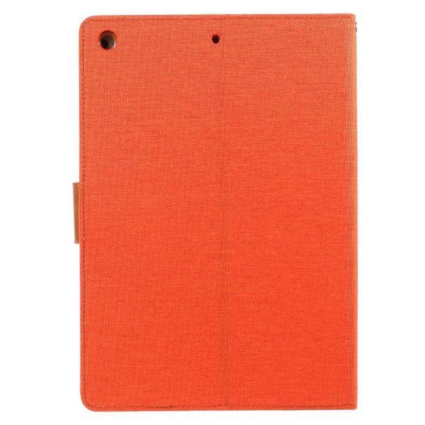 iPad 2017 レザーケース オレンジ 液晶保護フィルム付き アイパッド2017 カバー 手帳型 スタンド機能 ICカードスロット 札入れ memon-leather 02