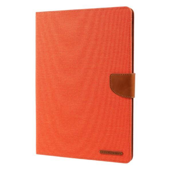 iPad 2017 レザーケース オレンジ 液晶保護フィルム付き アイパッド2017 カバー 手帳型 スタンド機能 ICカードスロット 札入れ memon-leather 03
