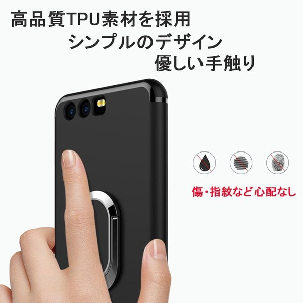 片手操作可能の収納式リング付きケース iPhoneX ケース iPhone7 plus ケース スマホケース iPhone8 plus ケース iPhone8 Galaxy S8 Plus Galaxy S7 edge memon-leather 04