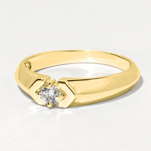 メモリアルリング LJR61 [3mmの誕生石×K18YG] 完全防水 樹脂埋封ジュエリー指輪 ゴールド製