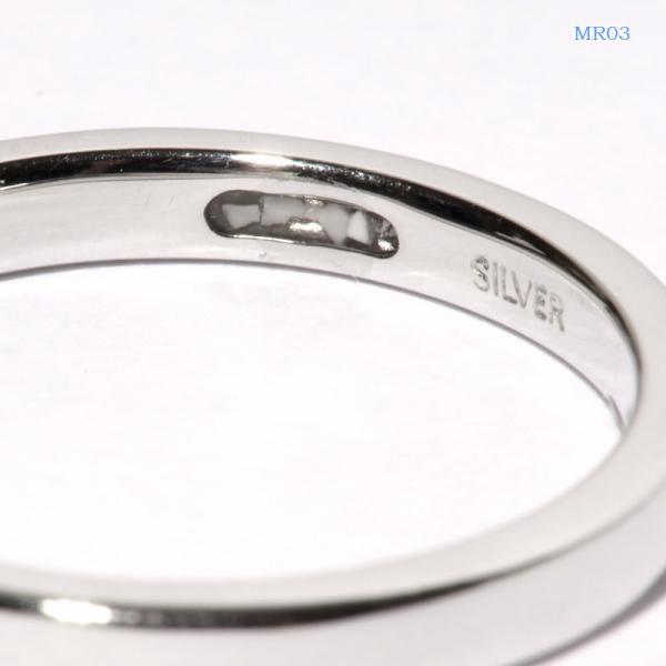 メモリアルリングMR03 地金:K18YG (18Kイエローゴールド) 〜遺骨を内側にジェル封入する完全防水の指輪〜|memoriaareca|02