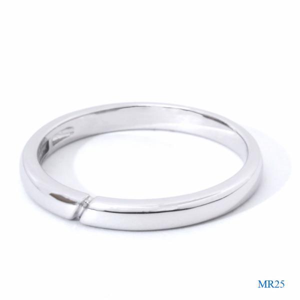 メモリアルリングMR25 地金:K18PG (18Kピンクゴールド) 〜遺骨を内側にジェル封入する完全防水の指輪〜|memoriaareca|02