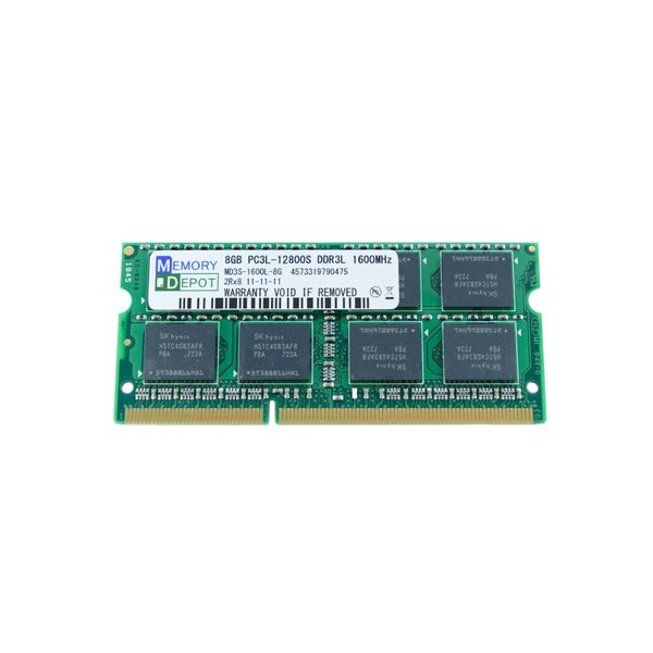 SODIMM 8GB PC3L-12800 DDR3L-1600 204pin SO-DIMM PCメモリー 相性保証付 (番号付メール便250円発送可)
