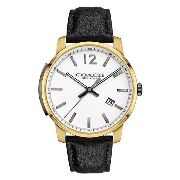 d2227d4fc12c コーチ 腕時計 メンズ クォーツ ブリーカー ホワイト×ブラック 14602055の画像