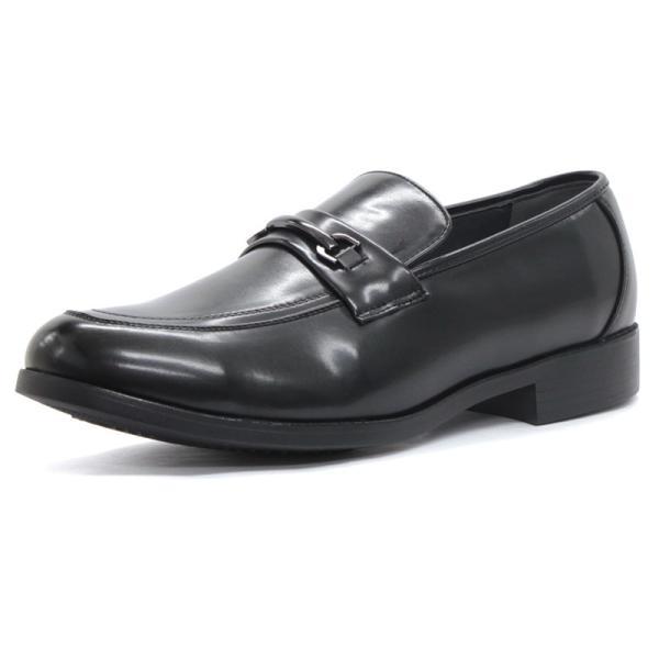 コンフォート ビジネスシューズ スリッポン ビット メンズ 紳士靴 対象商品2足の購入で4000円(税別)|mens-sanei|03