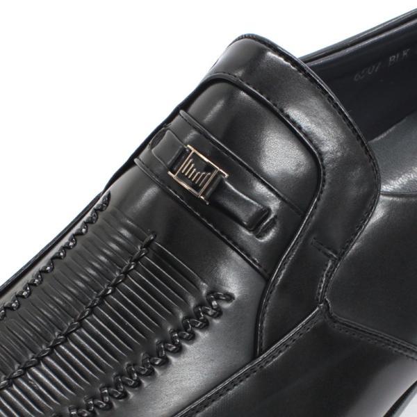 コンフォート ビジネスシューズ ギャザービット スリッポン フリンジ メンズ 紳士靴 対象商品2足の購入で4000円(税別)|mens-sanei|02