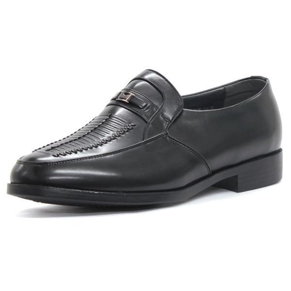 コンフォート ビジネスシューズ ギャザービット スリッポン フリンジ メンズ 紳士靴 対象商品2足の購入で4000円(税別)|mens-sanei|03