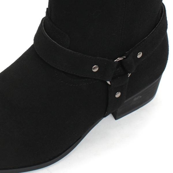 リングブーツ エンジニア レザー スェード 紳士靴 メンズ ロング ビター系 BITTER 大人 上品 キレイめ|mens-sanei|05