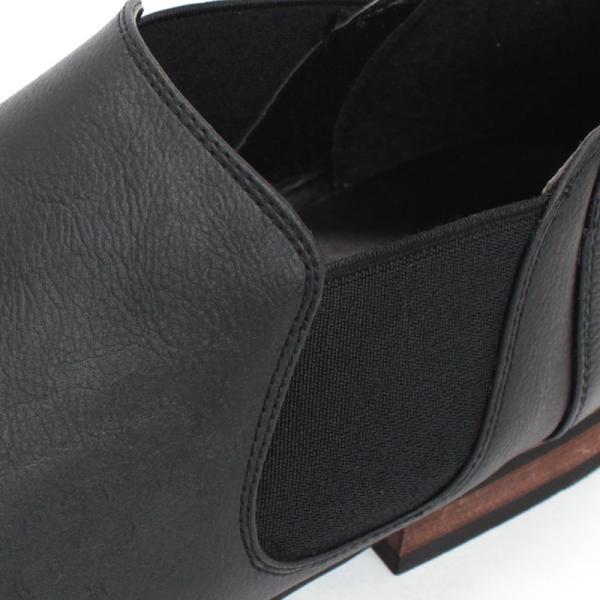 サイドゴアブーツ ショートブーツ レザー シューズ カジュアル 革靴 紳士 メンズ 短靴 対象商品2足の購入で6000円(税別)|mens-sanei|03