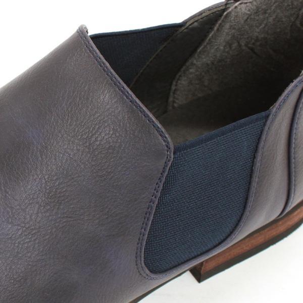 サイドゴアブーツ ショートブーツ レザー シューズ カジュアル 革靴 紳士 メンズ 短靴 対象商品2足の購入で6000円(税別)|mens-sanei|08