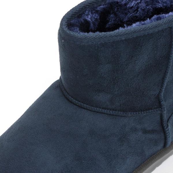 ムートンブーツ ショートブーツ ムートン メンズ 靴 冬 ボア ファー カジュアル シューズ スウェード 対象商品2足の購入で3600円(税別)|mens-sanei|11