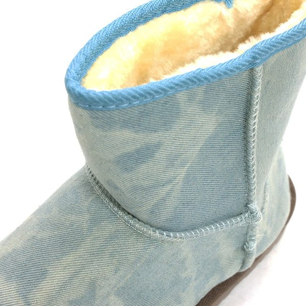 ムートンブーツ ショートブーツ ムートン メンズ 靴 冬 ボア ファー カジュアル シューズ スウェード 対象商品2足の購入で3600円(税別)|mens-sanei|13