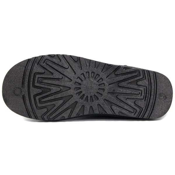 ムートンブーツ ショートブーツ ムートン メンズ 靴 冬 ボア ファー カジュアル シューズ スウェード 対象商品2足の購入で3600円(税別)|mens-sanei|04
