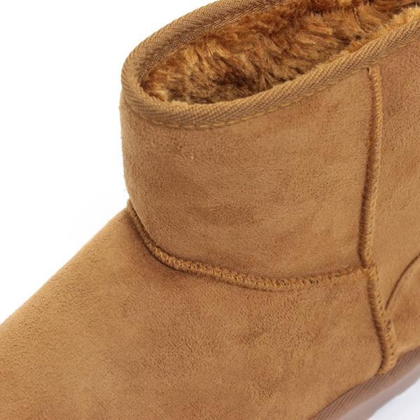 ムートンブーツ ショートブーツ ムートン メンズ 靴 冬 ボア ファー カジュアル シューズ スウェード 対象商品2足の購入で3600円(税別)|mens-sanei|05