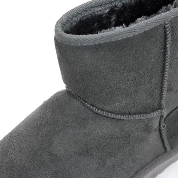 ムートンブーツ ショートブーツ ムートン メンズ 靴 冬 ボア ファー カジュアル シューズ スウェード 対象商品2足の購入で3600円(税別)|mens-sanei|09