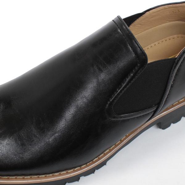 タンクソール サイドゴア カジュアル ビジネス ビジカジ メンズ 靴 シューズ 対象商品2足の購入で6000円(税別)|mens-sanei|03