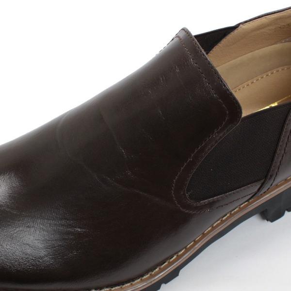 タンクソール サイドゴア カジュアル ビジネス ビジカジ メンズ 靴 シューズ 対象商品2足の購入で6000円(税別)|mens-sanei|05