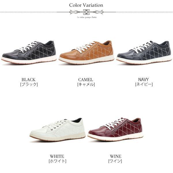 スニーカー ローカット キルティング メンズ 靴 シューズ カジュアル|mens-sanei|02