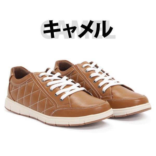 スニーカー ローカット キルティング メンズ 靴 シューズ カジュアル|mens-sanei|05