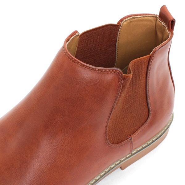 サイドゴアブーツ ドレスシューズ スェード カジュアル メンズ 紳士靴 革 レザー 対象商品2足の購入で6000円(税別)|mens-sanei|05