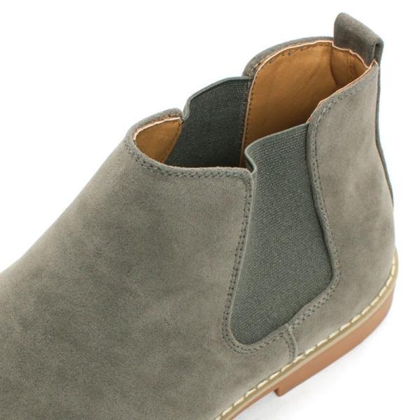 サイドゴアブーツ ドレスシューズ スェード カジュアル メンズ 紳士靴 革 レザー 対象商品2足の購入で6000円(税別)|mens-sanei|07