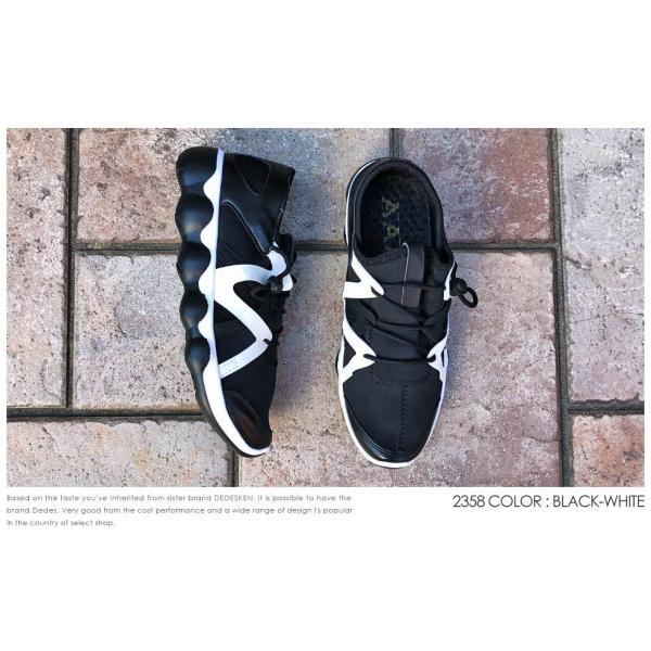 スニーカー ローカット 靴 インナースリッポン メンズ ハイテク レースアップ カジュアル ストリート|mens-sanei|05