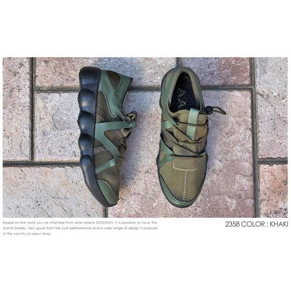 スニーカー ローカット 靴 インナースリッポン メンズ ハイテク レースアップ カジュアル ストリート|mens-sanei|07