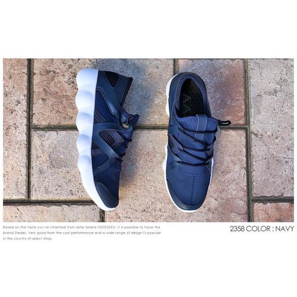 スニーカー ローカット 靴 インナースリッポン メンズ ハイテク レースアップ カジュアル ストリート|mens-sanei|08