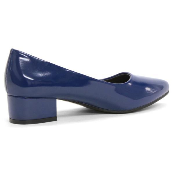 3.5cm チャンキー ヒール パンプス 全9色 ポインテッドトゥ スムース エナメル パイソン シルバー レディース 婦人 靴 HEEL PUMPS 2足4000円(税抜)セット対象|mens-sanei|12