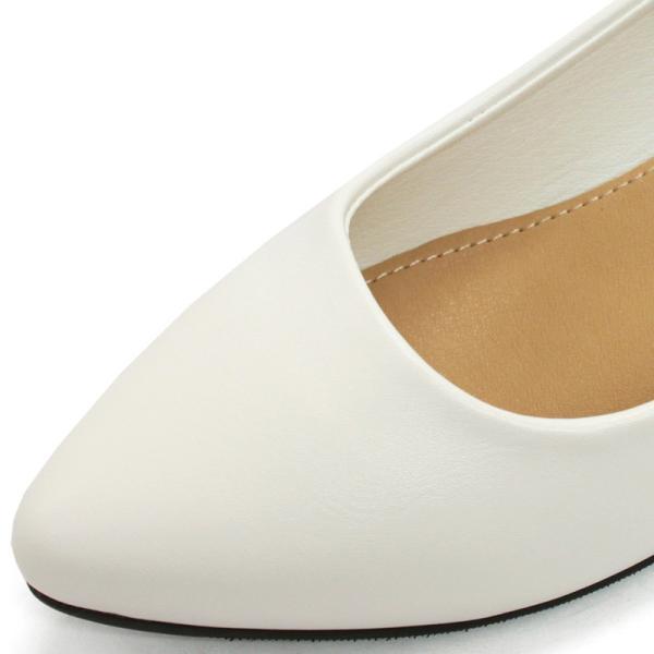 3.5cm チャンキー ヒール パンプス 全9色 ポインテッドトゥ スムース エナメル パイソン シルバー レディース 婦人 靴 HEEL PUMPS 2足4000円(税抜)セット対象|mens-sanei|04