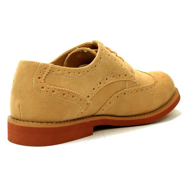 レンガソール ウィングチップ シューズ メンズ カジュアル シューズ 靴 短靴|mens-sanei|04