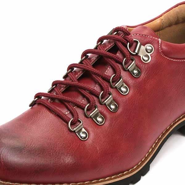 マウンテンブーツ メンズ 靴 ショート 短靴 カジュアル シューズ スウェード レザー|mens-sanei|13