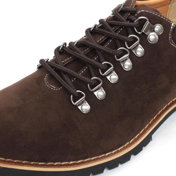 マウンテンブーツ メンズ 靴 ショート 短靴 カジュアル シューズ スウェード レザー|mens-sanei|14