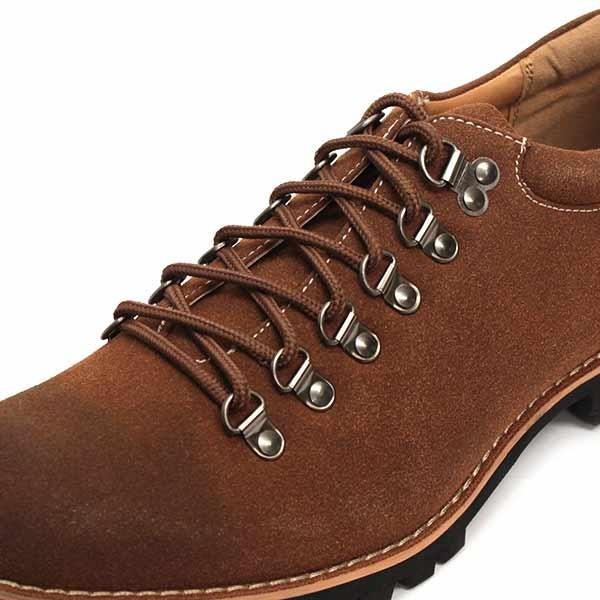 マウンテンブーツ メンズ 靴 ショート 短靴 カジュアル シューズ スウェード レザー|mens-sanei|08
