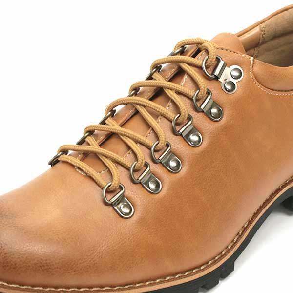 マウンテンブーツ メンズ 靴 ショート 短靴 カジュアル シューズ スウェード レザー|mens-sanei|09
