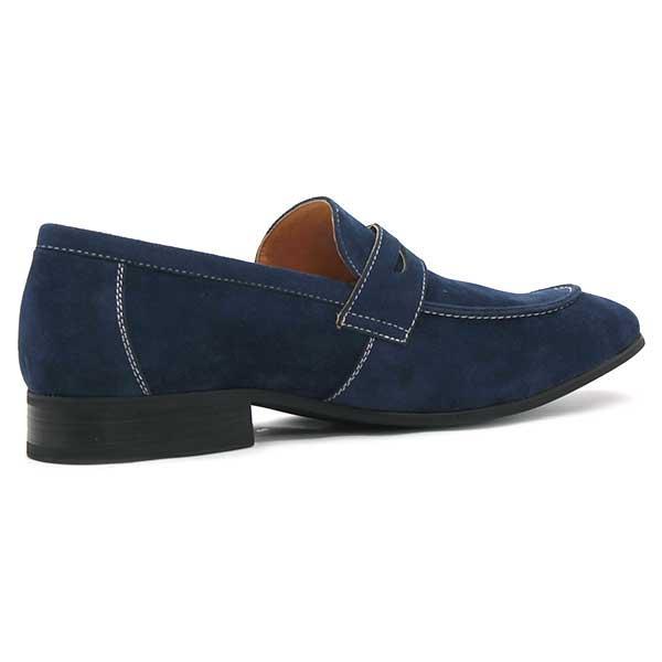 スェード コイン ローファー メンズ カジュアルシューズ 靴 スリッポン 対象商品2足の購入で6000円(税別)|mens-sanei|03