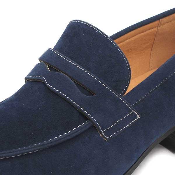 スェード コイン ローファー メンズ カジュアルシューズ 靴 スリッポン 対象商品2足の購入で6000円(税別)|mens-sanei|06
